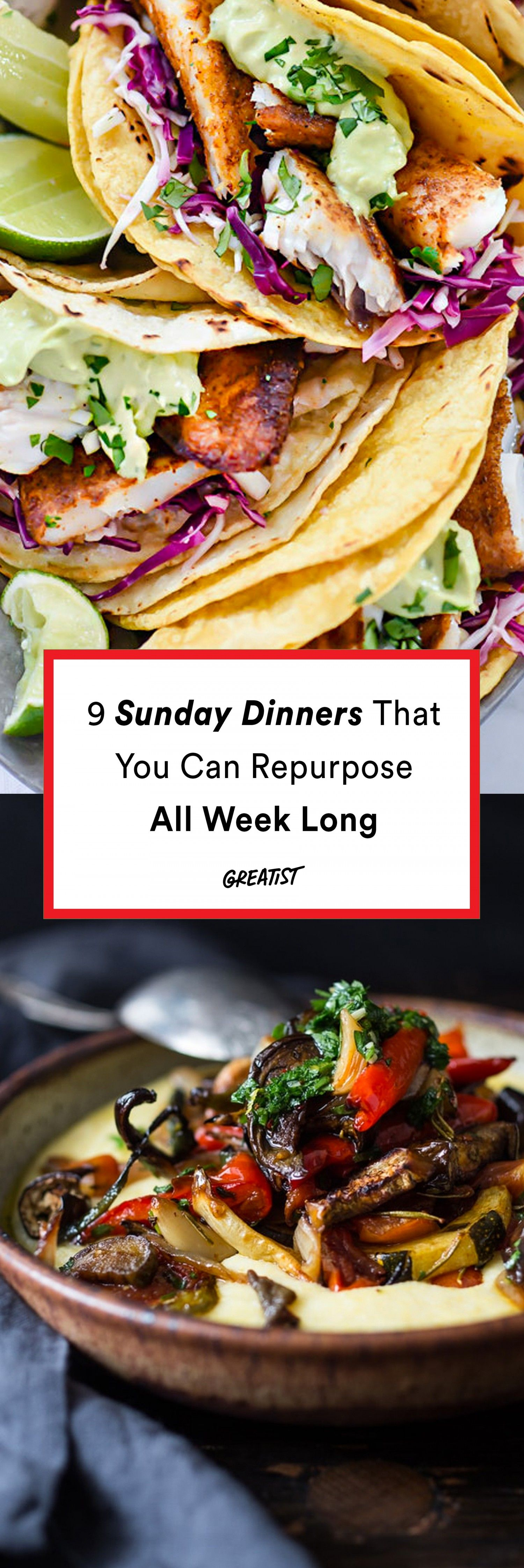 9 Sunday Dinners That You Can Repurpose All Week Long images