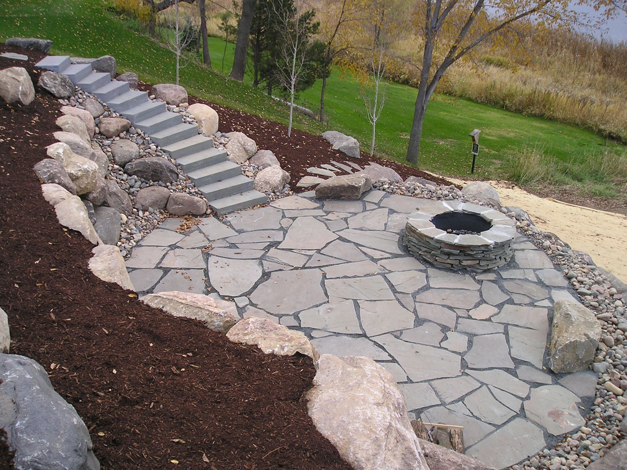 fire pit Landscaping Ideas Pinterest