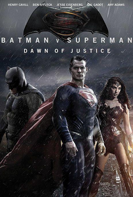 Batman V Superman Dawn of Justice Movie Poster v15 24 x 36 #Handmade #PopArt