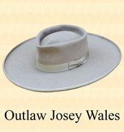 Outlaw Josey Wales Western Hats f772e656452