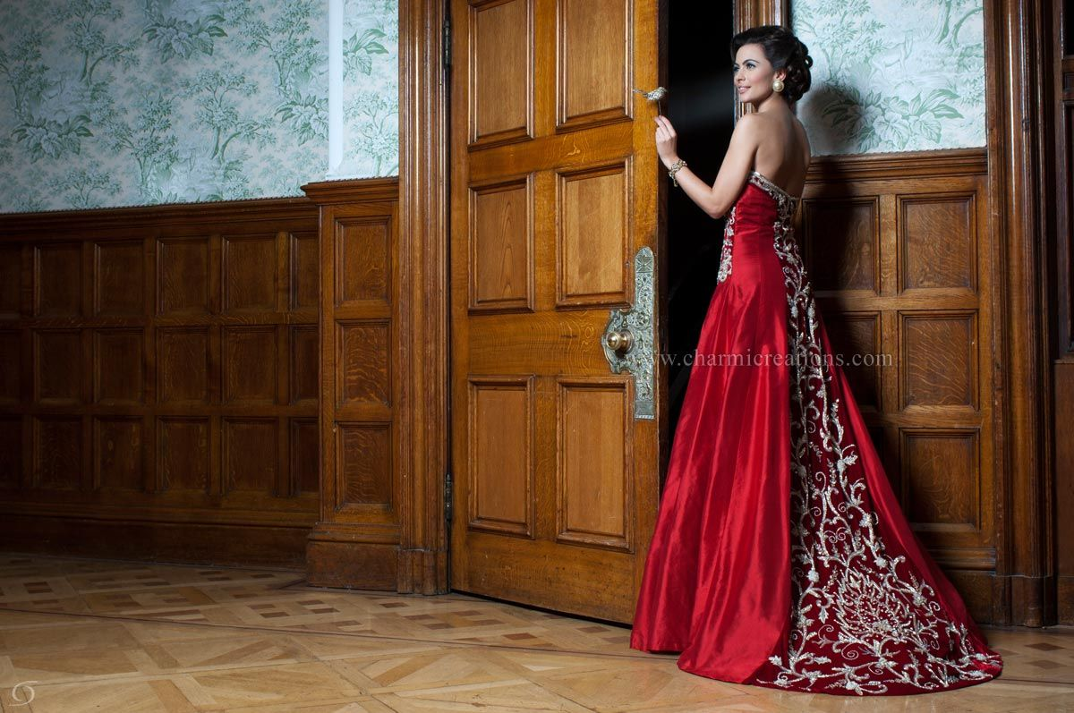 Wedding Reception Dresses Bridal Fusion Gowns Asian