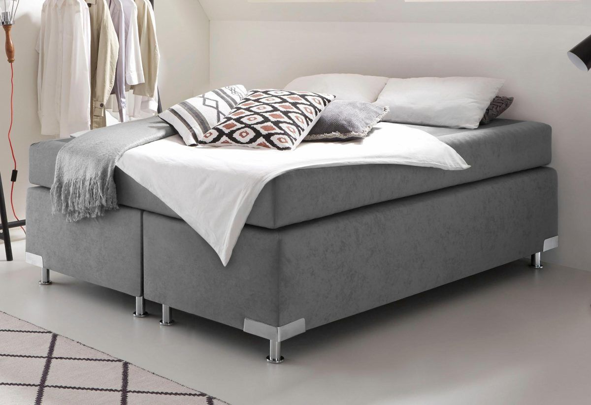 Schön Polsterbett Grau, Liegefläche 140x200cm, Härtegrad 2, WESTFALIA  Polsterbetten | Schlafzimmer U003e Betten U003e