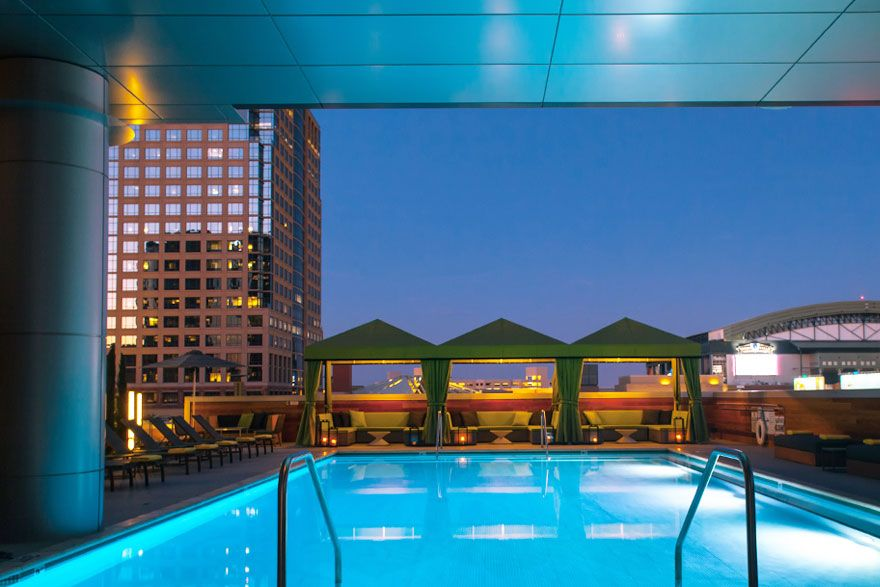 Palomar Hotel Modern Pet Friendly And Located In The Heart Of Downtown