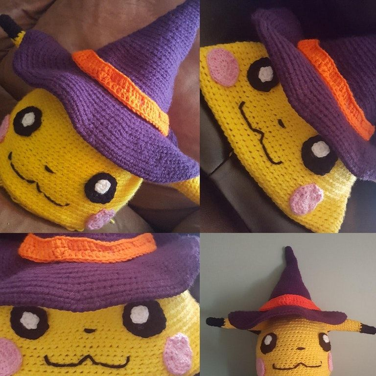 2a9535c5375 You guys liked my mimikyu hat