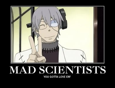 soul eater dr stein funny - Google Search