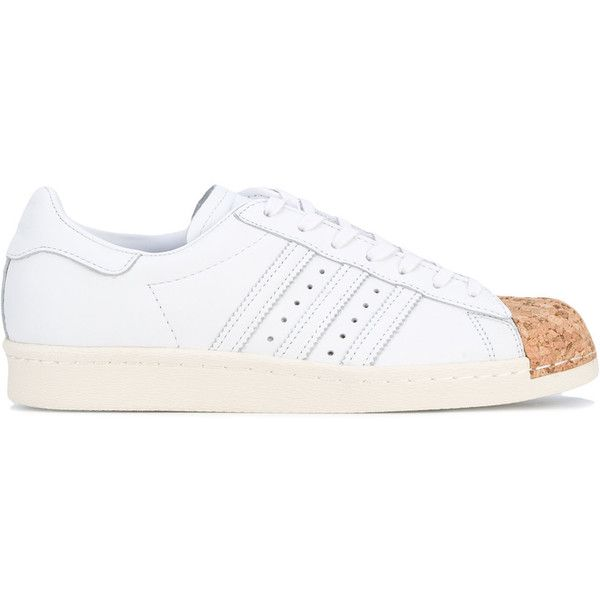Adidas Originals Superstar 80's sneakers ($124) ❤ liked on