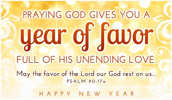 Happy New Year Religious Quotes: Happy New Year! And Scriptures