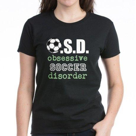 ad9a8662 Funny Soccer Women's Dark Women's Classic T-Shirt   Sports theme ...