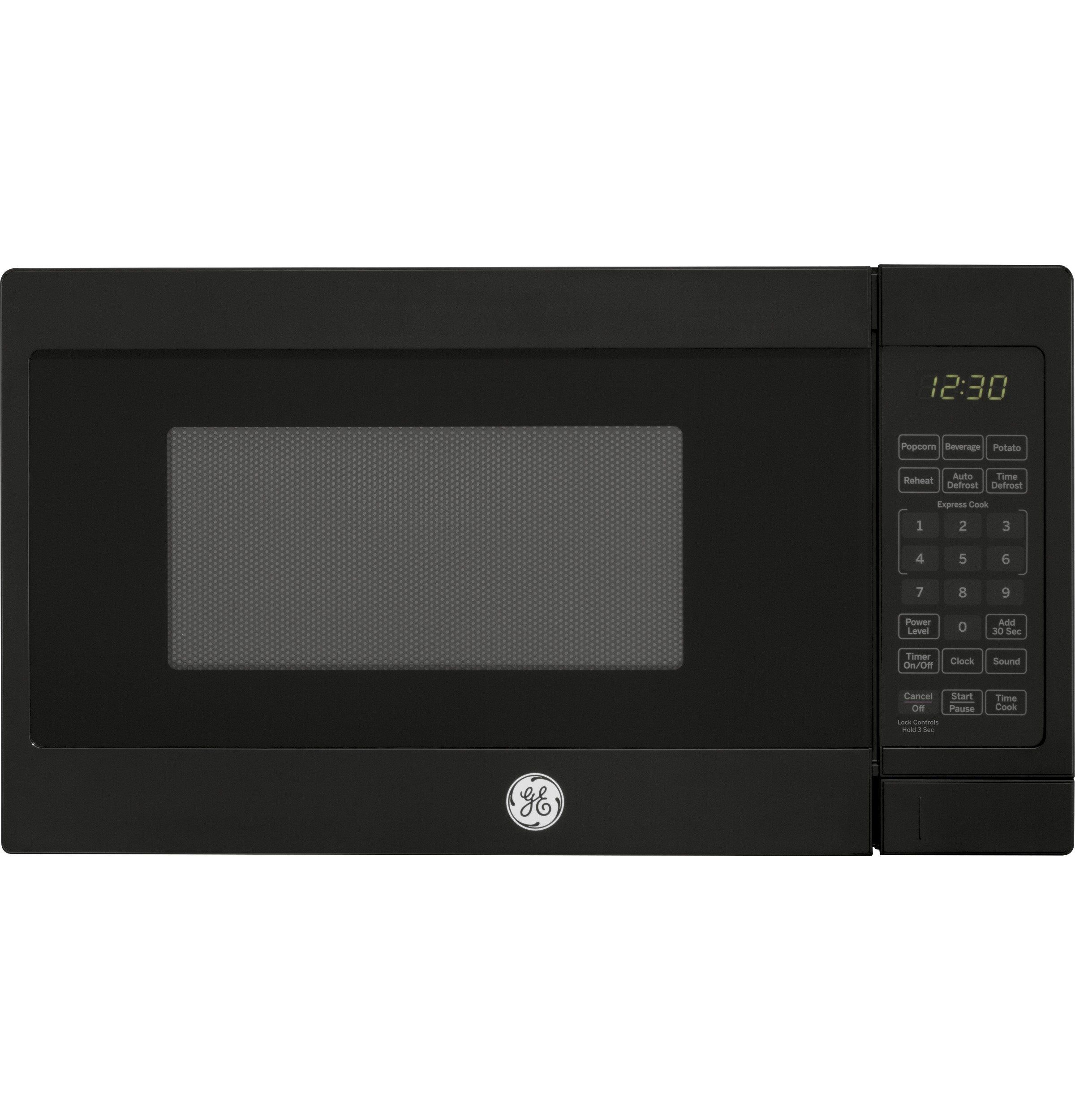 General Electric 0 7 Cu Ft Compact Countertop Microwave Oven