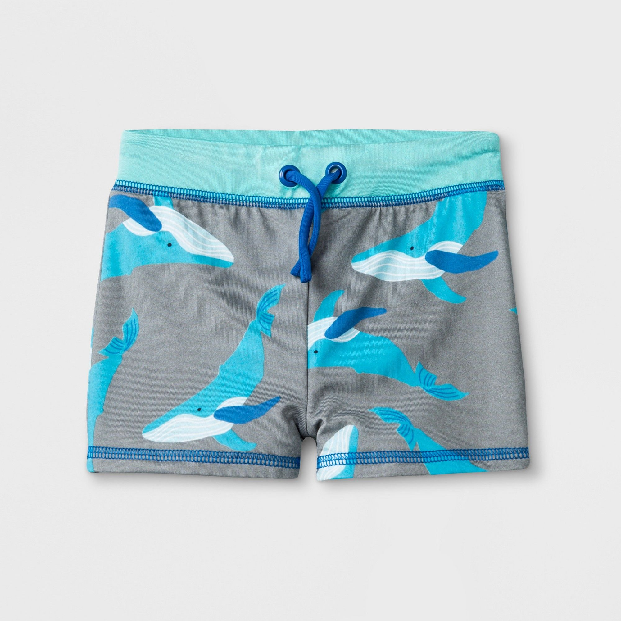 95c1b0867c Baby Boys' Whale Knit Swim Trunks - Cat & Jack Gray 12M in 2019 ...