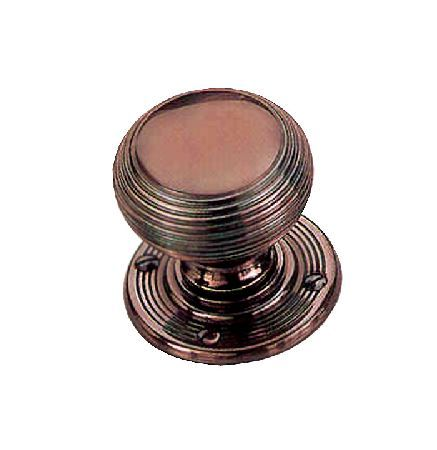 Door Furniture Direct Solid Bronze 64mm Reeded Bun Style Door Knobs At Door  Furniture Direct We