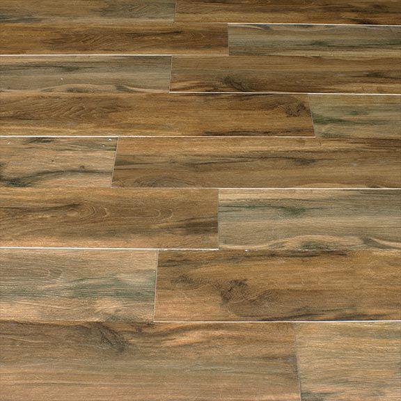 Botanica Cashew 6x36 Wood Plank Porcelain Tile | Matte u0026 Polished Finish