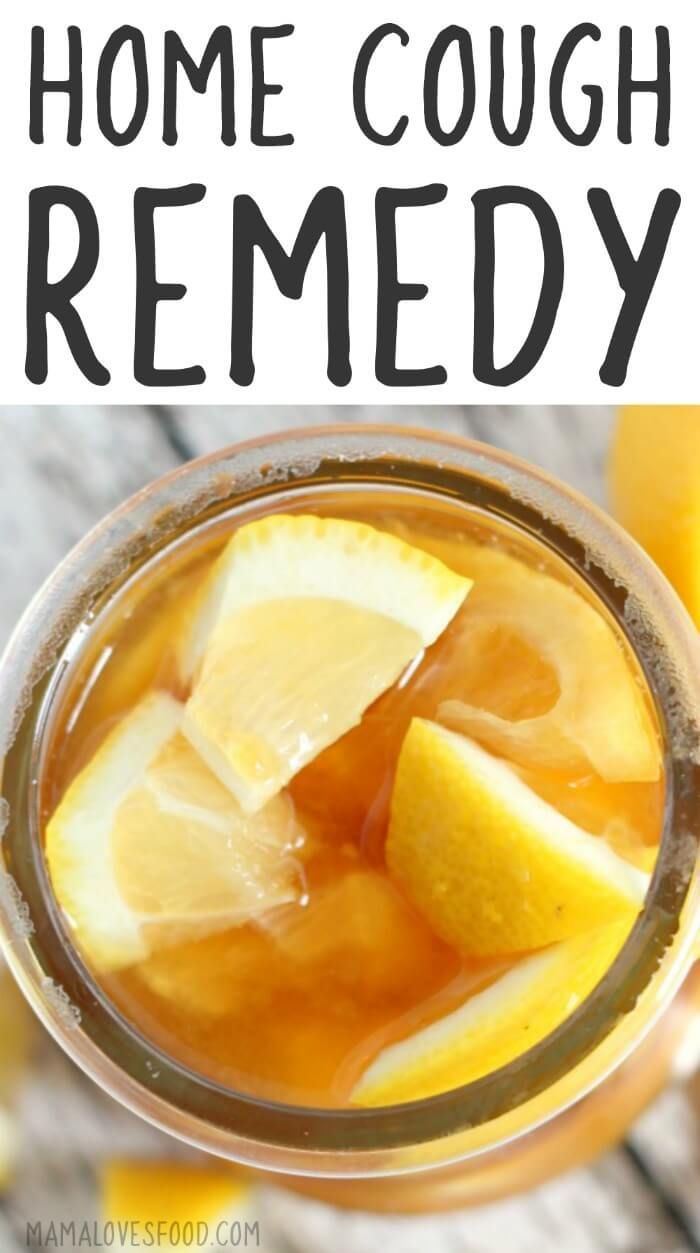 Worked So Well Home Remedy For Cough Lemon Honey