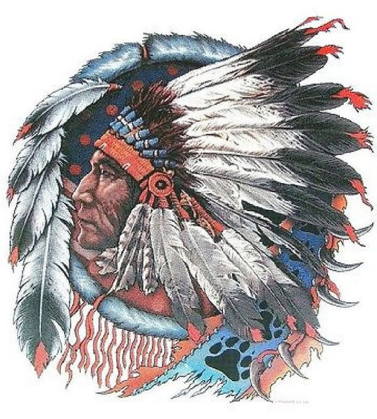 Getting A Native American Indian Tattoo The Trouble With - 541×600
