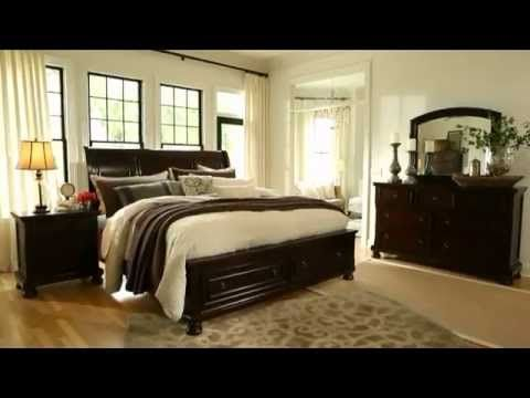 Best Porter King Sleigh Bed Ashley Furniture Home Store 400 x 300