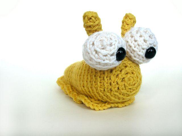 Hannah the Slug pattern by Stacey Trock