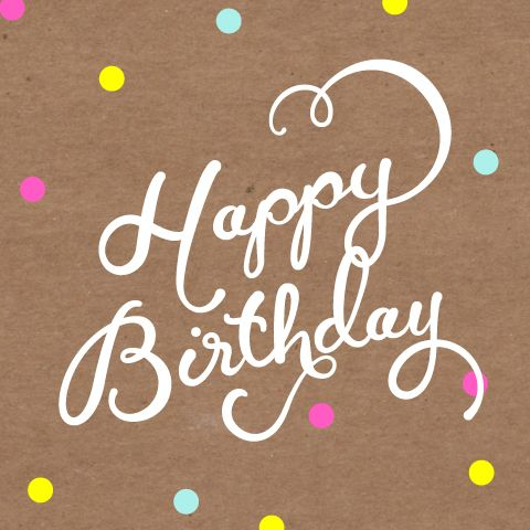 Gift Certificate for paper products site | Birthdays