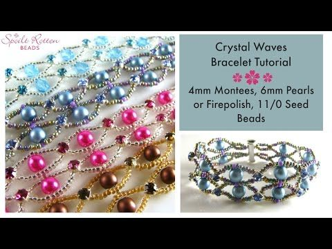 Create beautiful jewellery using the brilliant CzechMates QuadraTile beads and Toho seed beads. Design by TrendSetter Diane Fitzgerald. This kit is available...