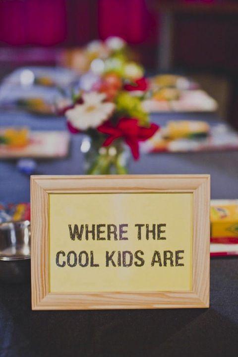Kids Tables… FUN! on itsabrideslife.com/Wedding Kids Table/Kids at ...