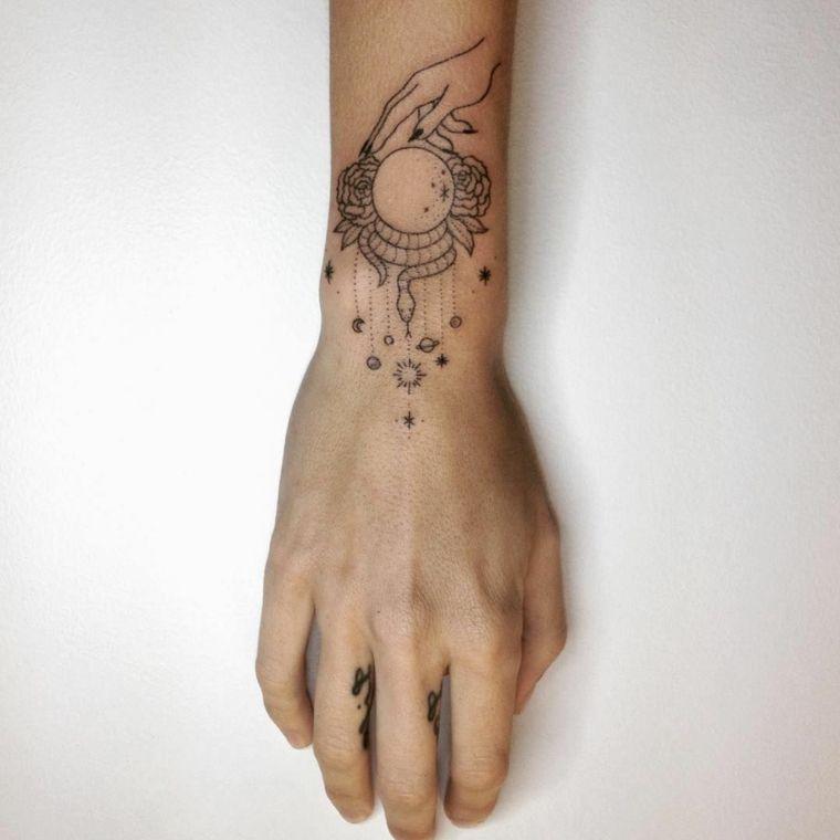 1001 + idee per Tatuaggi stelle - immagini a cui ispirarsi ...
