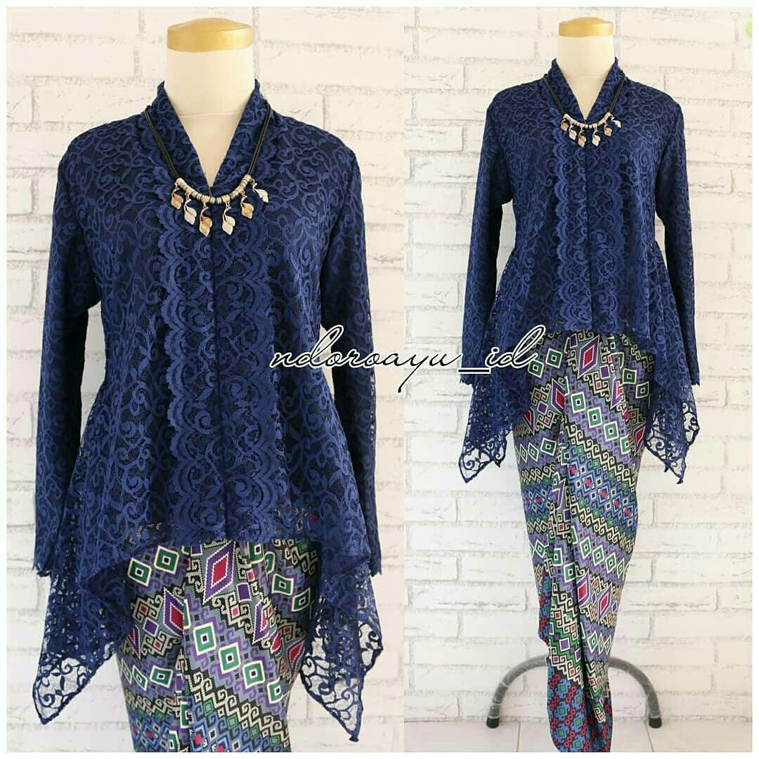 Kebaya modern  Model pakaian, Model baju wanita, Model pakaian hijab