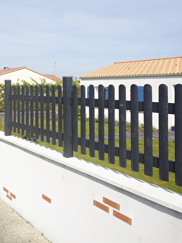 clôture bois Bristol pour délimiter vos espaces #clôture #bois ...
