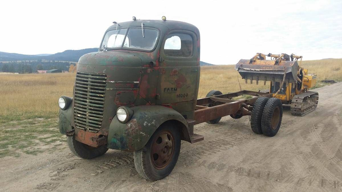 1944 Dodge Coe Cabover Truck For Sale 1789550 Autos Dodge
