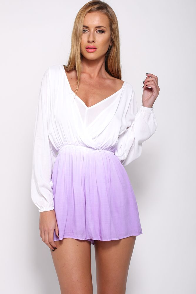 Change Of Scenery Playsuit, $59 + Free express shipping http://www.hellomollyfashion.com/change-of-scenery-playsuit-purple.html