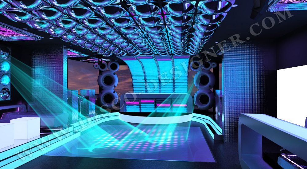 Idea for night club interior design, interesting combination of ...