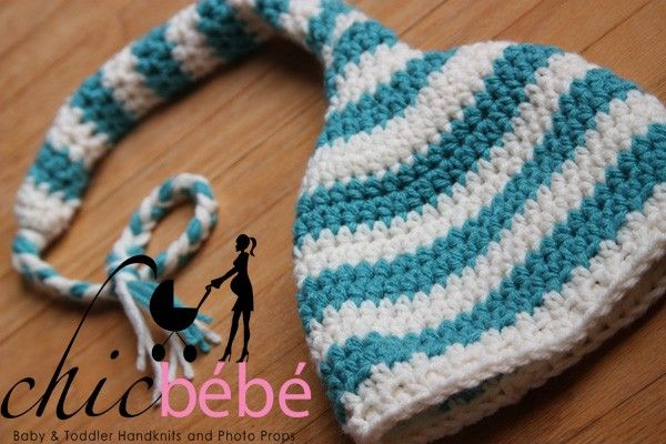 The Chic Long Tail Pixie Hat by chicbebeh on Etsy, $26.99