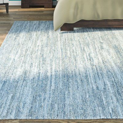Brayden Studio Hubbard Rescued Light Blue Dark Blue Gray Area Rug Rug Size Blue Gray Area Rug Area Rugs Grey Area Rug