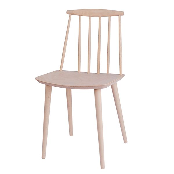 J77 Chair Beech Dining Chairs Chair Hay Design