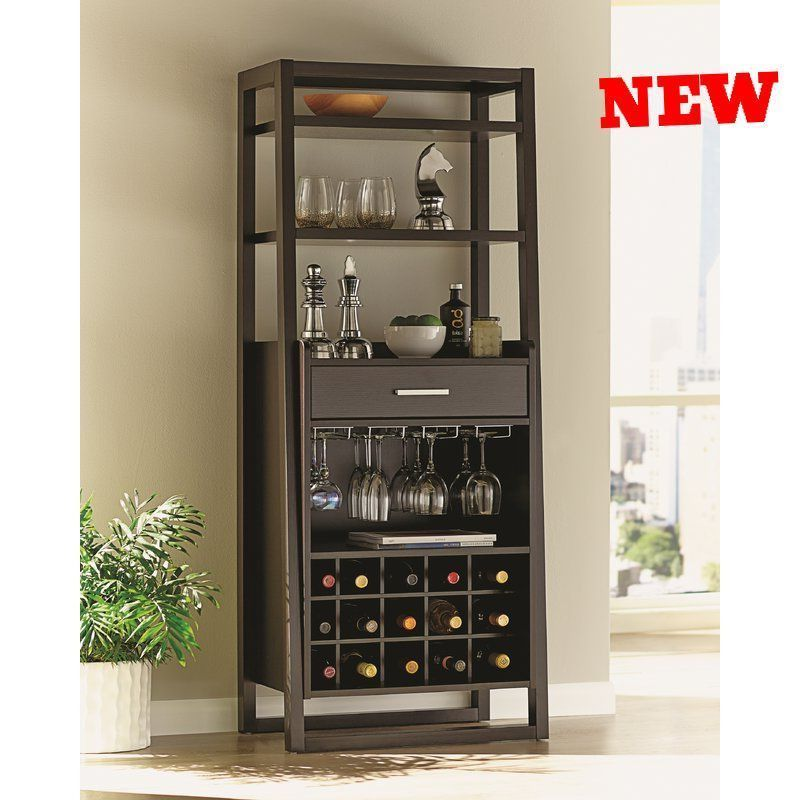 Wine Rack Mount Bar Organizer Bottle Storage Glass Holder Display Home  Furniture
