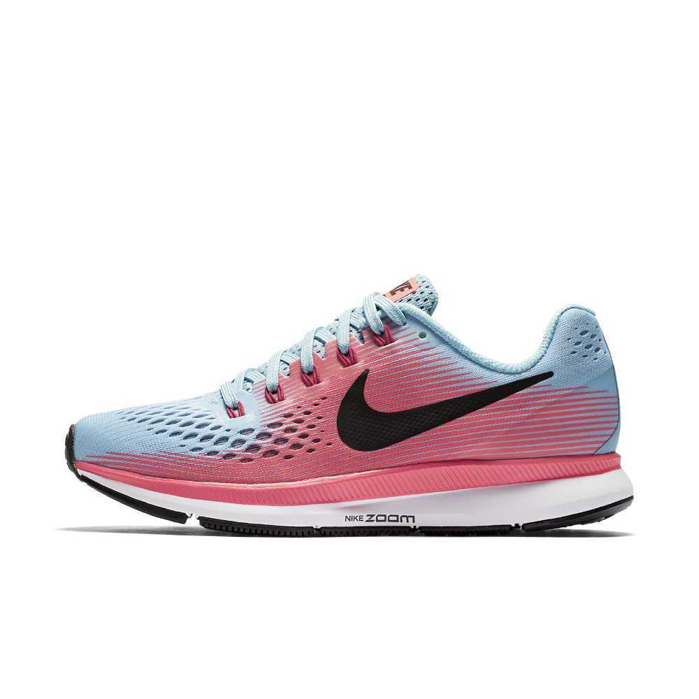 b6781c3df20 Nike Air Zoom Pegasus 34 (Narrow) Women s Running Shoe Size 10.5 (Blue)