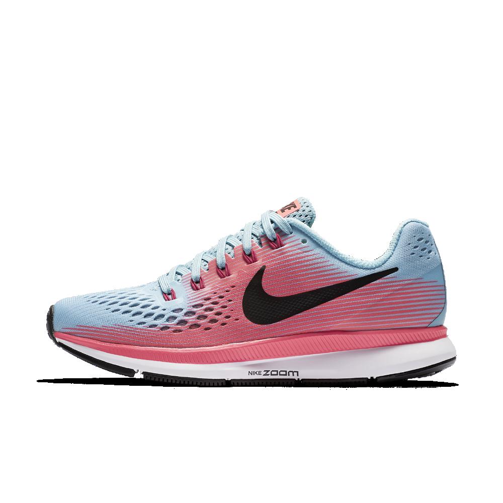 bd0907d97 Nike Air Zoom Pegasus 34 (Narrow) Women's Running Shoe Size 10.5 (Blue)
