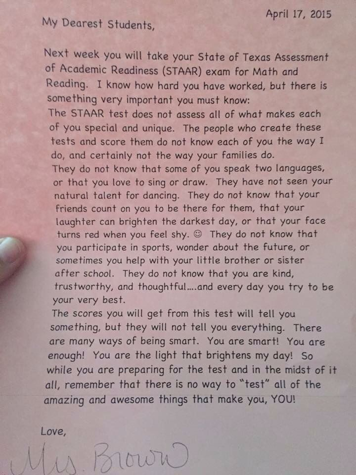 Encouraging Letter For Students  Great Quotes    Students