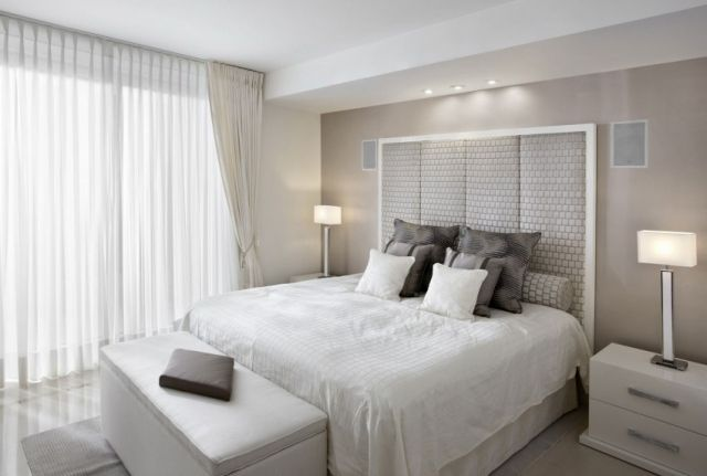 1000 ideas about chambre grise et blanche on pinterest gray bedroom bedrooms and gris blanc - Meuble Chambre Blanc