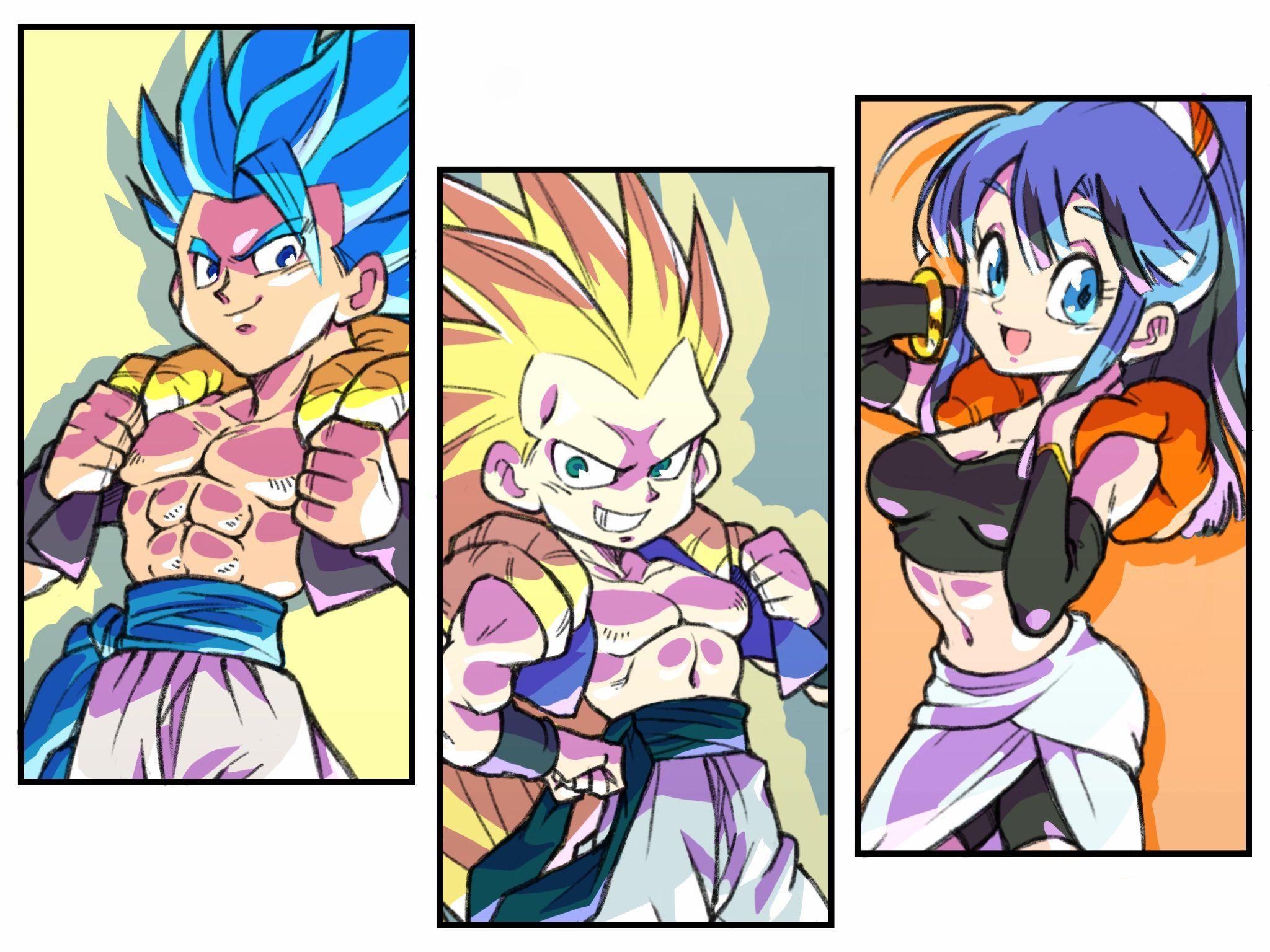 The Fusion Family! Gogeta, Gotenks, and Bulchi! | Dragon ...