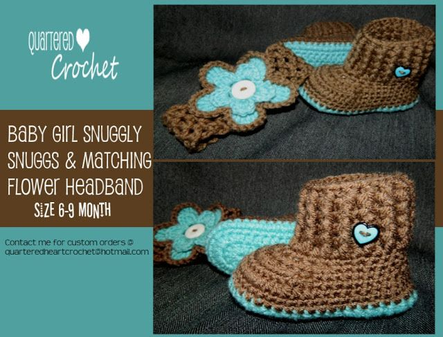 Free Crochet Headband Patterns For Girls Baby Girl Crochet Boots