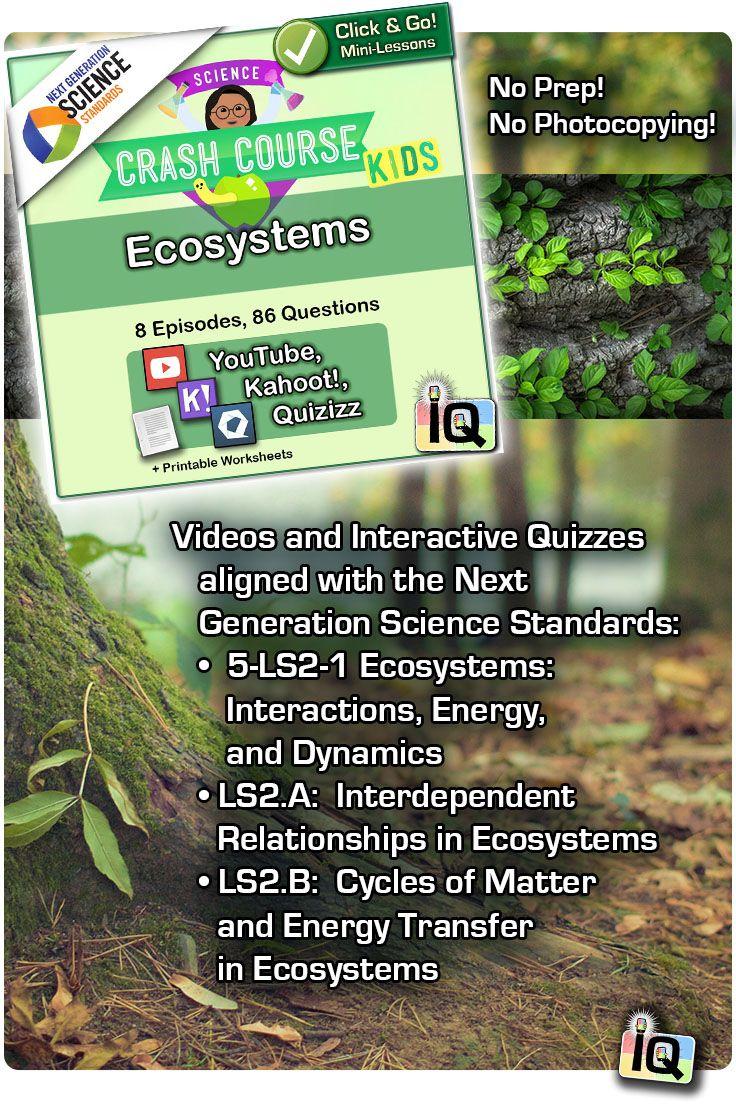 Crash Course Kids Ecosystems With Images Crash Course