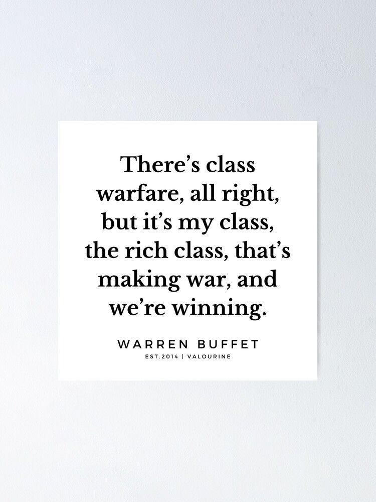 8 | Warren Buffett Quotes | 190823 Poster by QuotesGalore