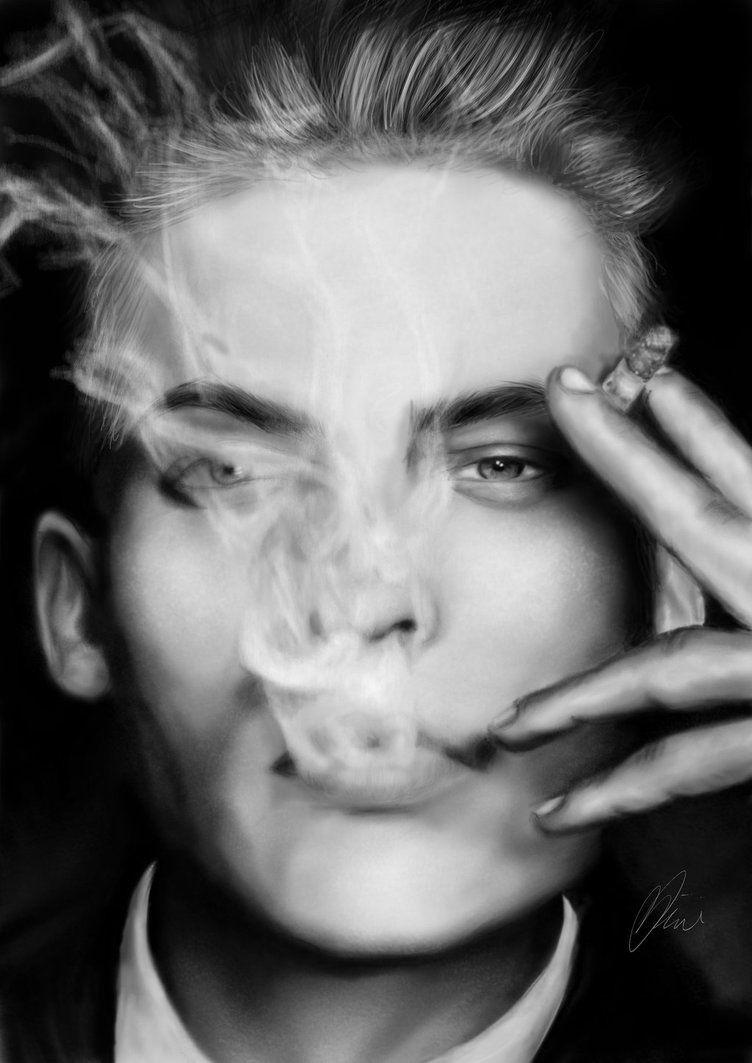Smoking by damxam on DeviantArt