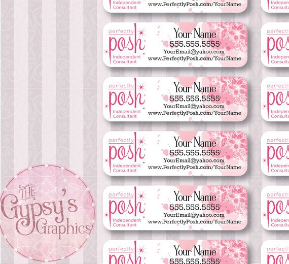 Perfectly Posh Labels Pink Powder Perfectly Posh Perfectly Posh Ideas Perfectly Posh Consultant