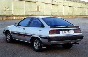 Mitsubishi Cordia Turbo my 2nd car Coupe de Garage