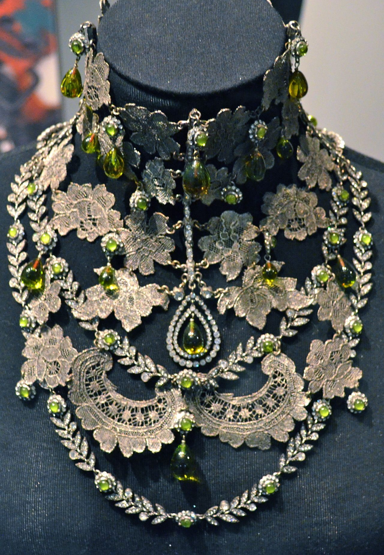 Amazing vintage necklace by christian dior vintage