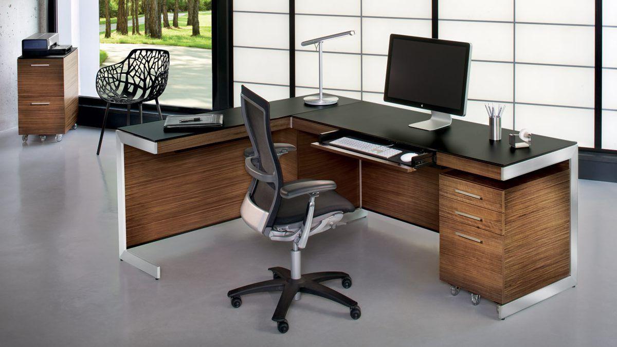 Computer Desk For Office Diy The Sleek Modern Sequel Office