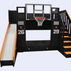 the ultimate basketball bunk bed - Bett Backboard Ideen