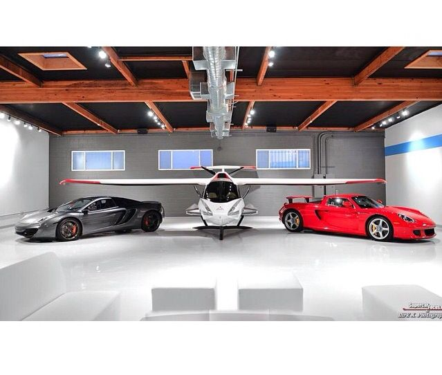The Ultimate 2 Car Garage And A Spot For Plane