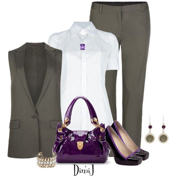 AllSaints Office Look by dimij on Polyvore