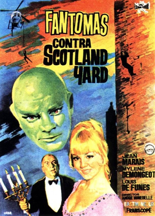 1FICHIER SCOTLAND YARD CONTRE TÉLÉCHARGER FANTOMAS